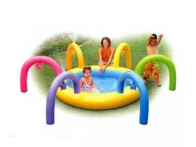 "INTEX 756448 – Детски надуваем басейн ""Спирали"""