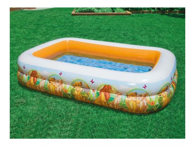 """INTEX 757492 – Детски надуваем басейн """"Цар Лъв"""" с размери 262x175x56 cm"""