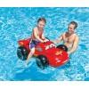 """INTEX 758576 - Детска надуваема кола/дюшек """"CARS"""" с размери 107x71 cm"""