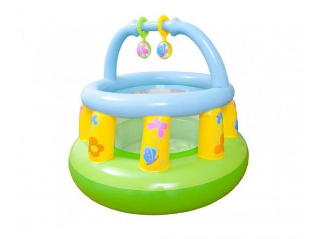 INTEX 748474 - Бебешка кошарка с размери 130х104 см, за деца до 1.5 г.