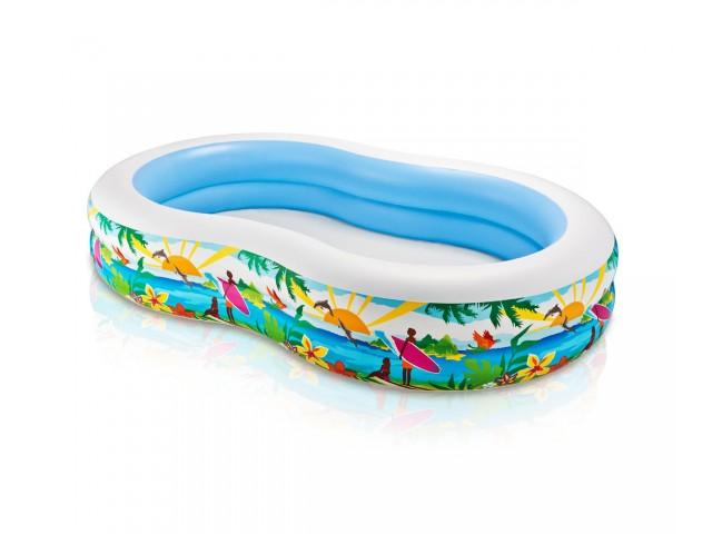 INTEX 756490 - Надуваем басейн с твърд борд с размери 262х160х46 cm, За деца над 3 г.