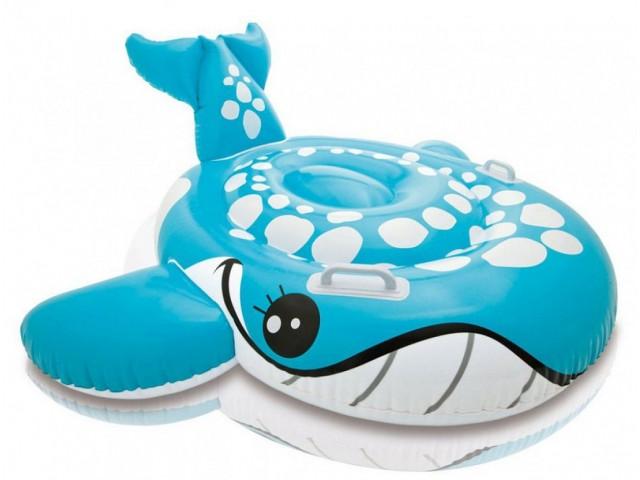 """INTEX 757527 - Детска надуваема играчка/дюшек """"КИТ"""" с размери 160x152 cm"""