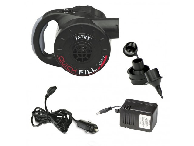 INTEX 766622 - Електрическа помпа, Работи на 12V и 220V
