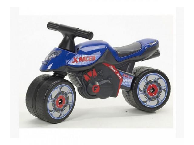 FALK – Детски мотор за балансиране X-RACER, син, (модел: 302018)