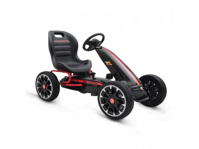 Abarth 500 Assetto corse - Картинг кола, синтетични EVA гуми, Цвят: Черен, Тегло: 12.80 кг