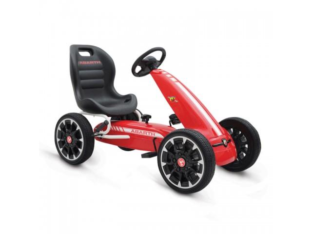 Abarth 500 Assetto corse - Картинг кола, синтетични EVA гуми, Цвят: Червен, Тегло: 12.80 кг