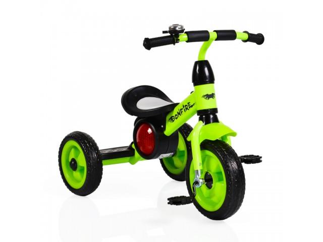 Byox BONFIRE - Триколка, Максимално тегло до 20 кг, Цвят: зелена