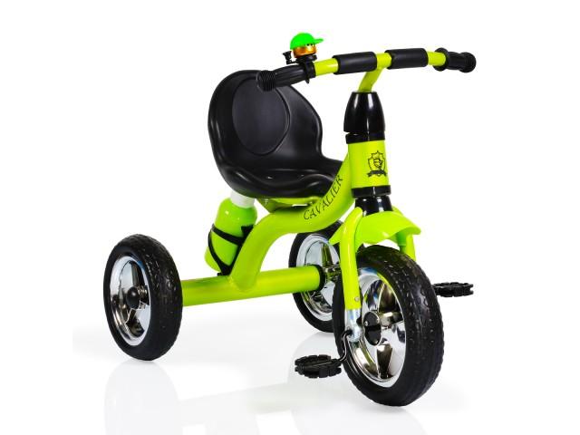 Byox CAVALIER - Триколка, Максимално тегло до 20 кг, Цвят: зелена