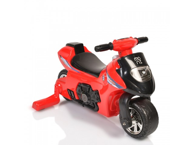 MONI FIRST STEP - МОТОР, балансиращ, Максимално тегло: 25 кг, Цвят: червен