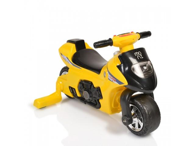 MONI FIRST STEP - МОТОР, балансиращ, Максимално тегло: 25 кг, Цвят: жълт