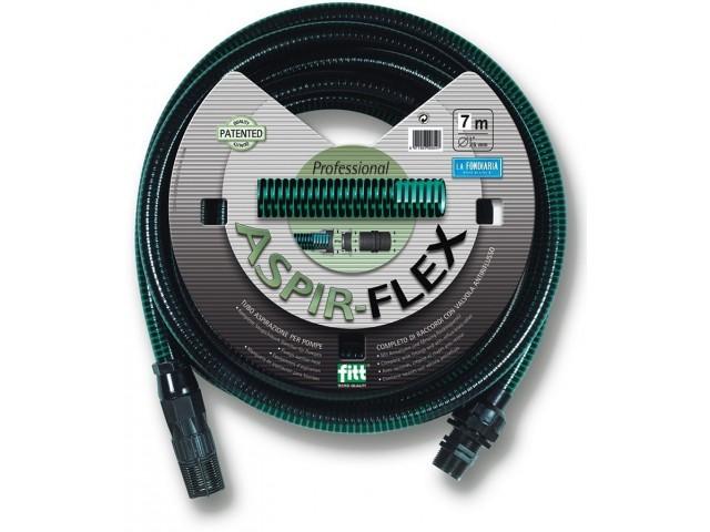 """FITT 80217.33021.59001 Гофриран всмукателен маркуч за помпи """"ASPIR-FLEX"""", Дължина L=7.0 m на фирма FITT-Италия"""