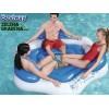 "BESTWAY 43111 - Надуваем воден сал/остров ""Coolerz Inflatable Water Sport X3"", Размери: 1.91x1.78m, Товароносимост: 270 кг"