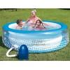 """BESTWAY 51109 - Надуваемо джакузи """"Relax'n Bubble"""", Кръгло, Размери: диаметър Ø1.96 x 0.53 m"""