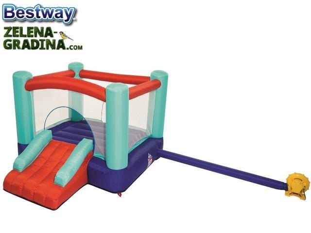 BESTWAY 53310 - Надуваем детски център - замък, Размери: 250 x 210 x 152 cm, С помпа за надуване