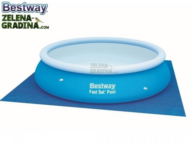 BESTWAY 58001 - Подложка за басейн или джакузи с размери 3.35 x 3.35 m
