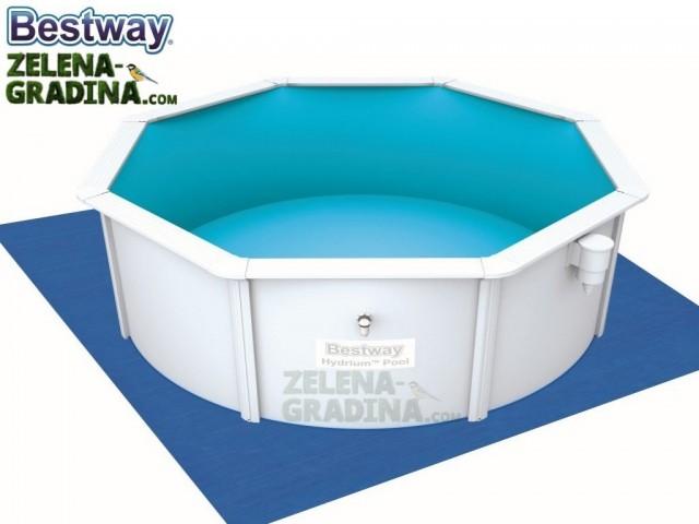 BESTWAY 58002 - Подложка за басейн или джакузи с размери 3.96 x 3.96 m