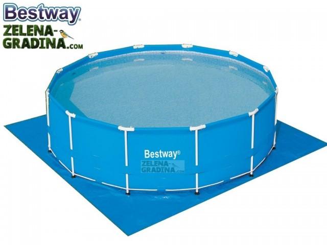 BESTWAY 58031 - Подложка за басейн или джакузи с размери 5.79 x 5.79 m