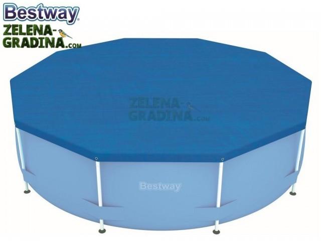 BESTWAY 58036 - Покривало за басейн с диаметър Ф 3.05 m