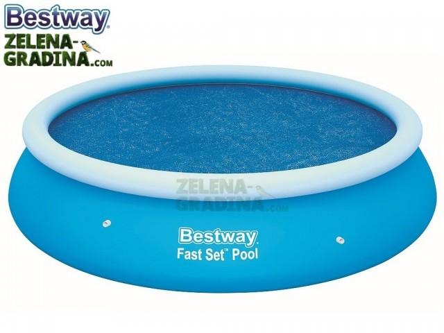 BESTWAY 58061 - Соларно покривало за басейн с диаметър Ф 3.05 m