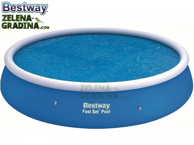 BESTWAY 58065 - Соларно покривало за басейн с максимален диаметър Ф 4.57 m