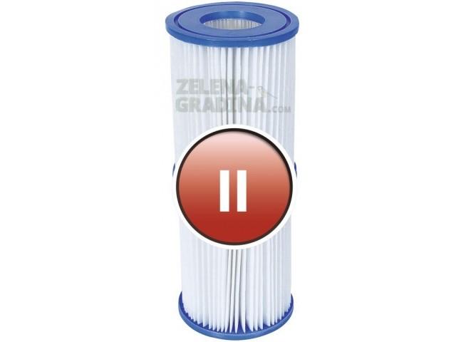 BESTWAY 58094 - Картушен филтър за филтрираща помпа, Тип II, Размери: диаметър Ф 10.6 х височина 13.6 cm