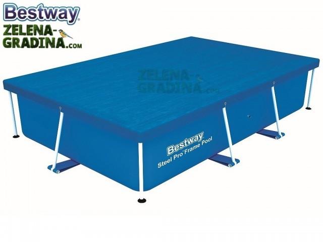 BESTWAY 58105 - Покривало за басейн с размери 2.59 x 1.70 x 0.61 m