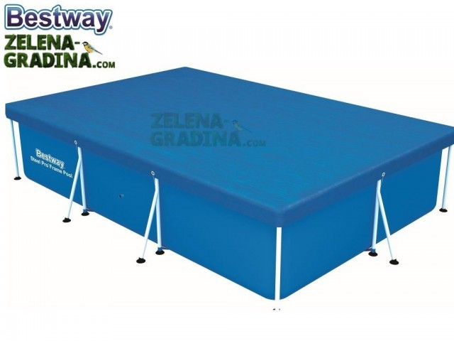 BESTWAY 58106 - Покривало за басейн с размери 3.00 x 2.01 x 0.66 m