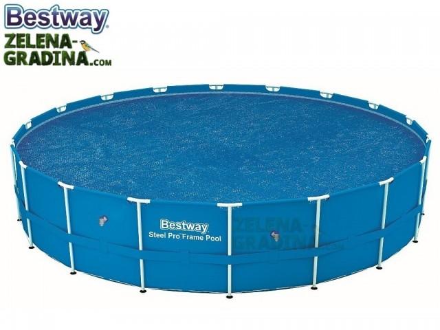 BESTWAY 58173 - Соларно покривало за басейн с диаметър от 5.20 до 5.49 m