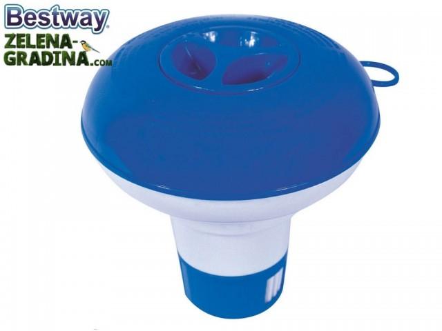 BESTWAY 58210 - Плаваща система за хлорни таблетки, Размер: 2.5 см