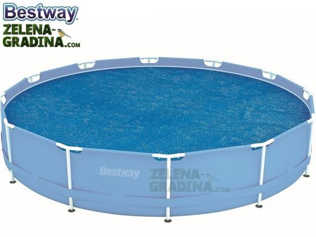 BESTWAY 58242 - Соларно покривало за басейн с диаметър Ф 3.66 m