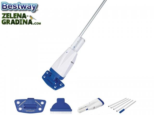 BESTWAY 58427 - Почистващ акумулаторен комплект Flowclear ™ Aqua Powercell Vac