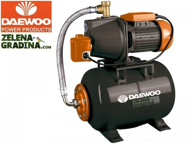DAEWOO AUTOJET100S - Помпа хидрофорна, Мощност: 750W, Дебит: 2520 l/h, Дълбочина на засмукване: 8.0 m, Воден стълб: 28 m