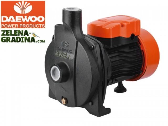 DAEWOO DAECPM158 - Електрическа центробежна напорна помпа, Мощност: 750 W, Дебит: 5760 l/h, Максимална дълбочина на засмукване: 8.0 m