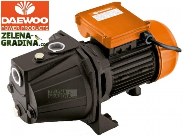 DAEWOO DAEJET100S - Електрическа центробежна многостъпална помпа, Мощност: 750 W, Дебит: 2760 l/h, Максимална дълбочина на засмукване: 8.0 m