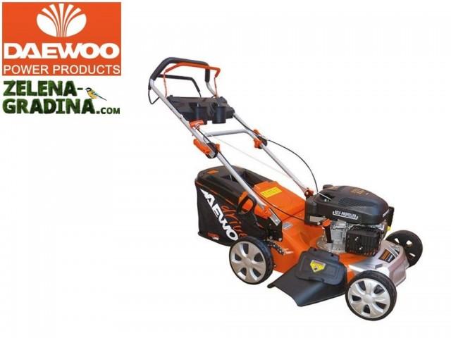 DAEWOO DLM4600SP - Косачка бензинова самоходна, Мощност: 2.5 kW, Обем на двигателя: 139 cm³, Ширина на косене: 460mm