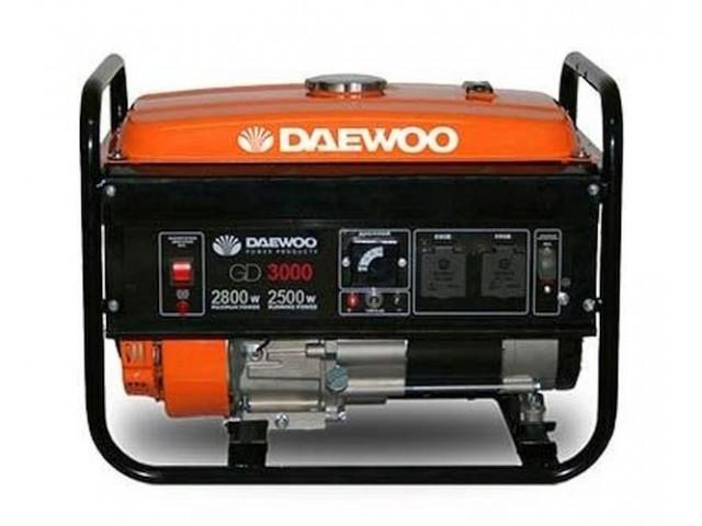 DAEWOO GD3000 - ГЕНЕРАТОР БЕНЗИНОВ 2.5/2.8 kW
