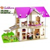 EICHHORN 100002513 - Детска дървена вила, Размери: 75x30x54 cm височина