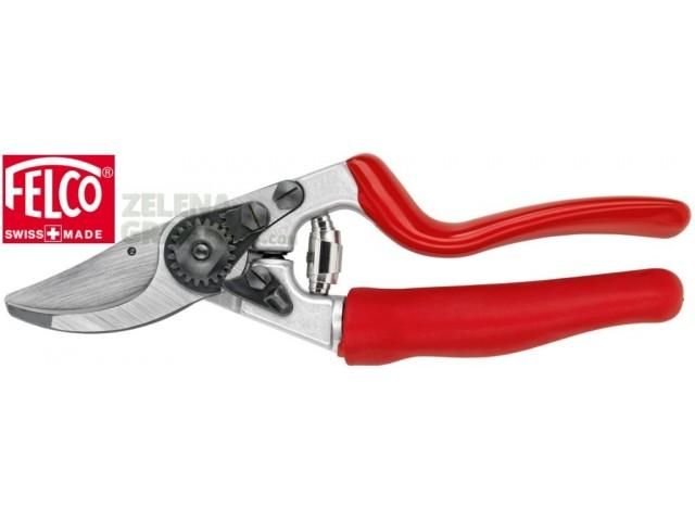 """FELCO 7 - Професиолна лозарска ножица """"FELCO 7"""", ергономичен модел с ротационна дръжка и остриета от закалена стомана; гумени абсорбиращи тампони на дръжките; подменящи се части , Рязане: до Ф25 mm, Дължина: 21 cm, Тегло: 310 g"""