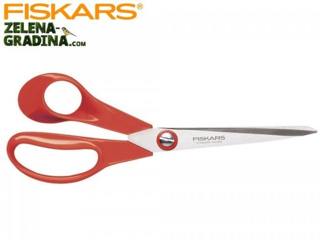 FISKARS 1000814 - Универсална домакинска ножица за ЛЯВА ръка, Дължина: 21 cm