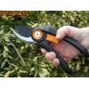 """FISKARS 1020191 - Градинска ножица с разминаващи се остриета """"Solid P32"""", Рязане до: Ф12 mm"""