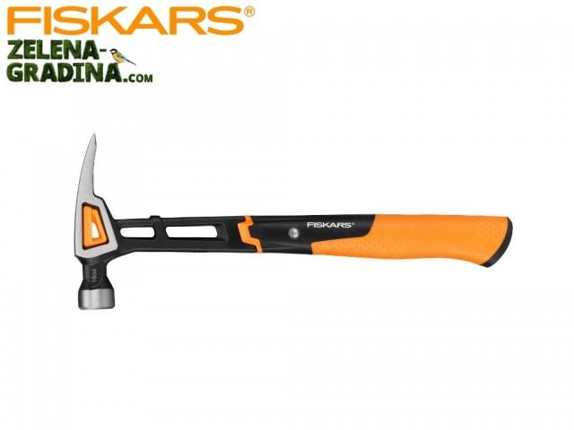 FISKARS 1020214 - Универсален чук FISKARS, размер L, Дължина: 34 cm, Тегло: 0.92 кг