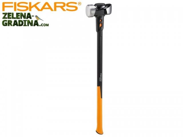 FISKARS 1020219 - Каменарски чук с дълга дръжка FISKARS, размер: L, Дължина: 92 cm, Тегло: 4760 гр.