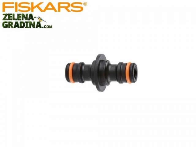 """FISKARS 1020443 - Трипътна муфа за лесно свързване или разделяне на маркучи, Размер: 1/2"""", 3/4"""" или 3/8"""""""