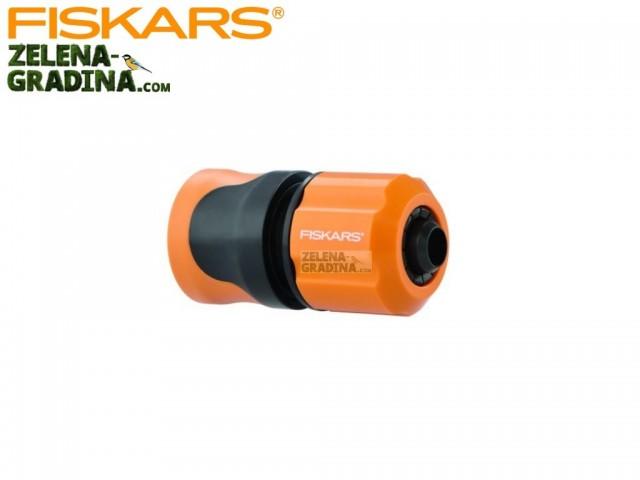 """FISKARS 1020450 - Бърза връзка за маркуч с AQUA стоп, Размер: 1/2"""" (13 mm)"""