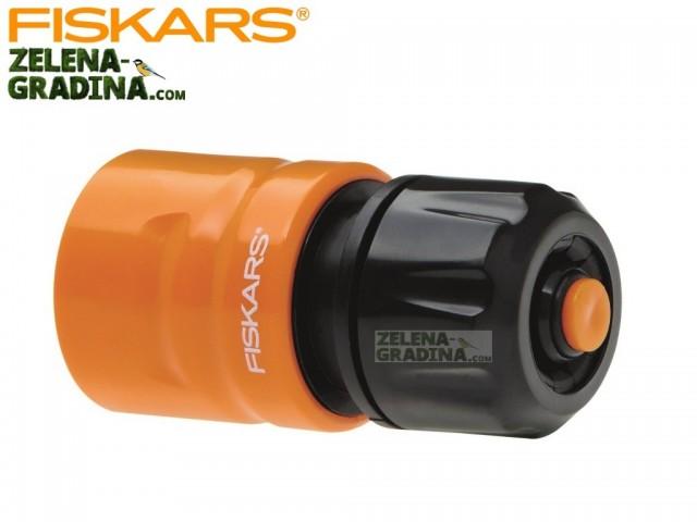 """FISKARS 1023666 - Бърза връзка за маркуч с AQUA стоп, Размер: 1/2"""" - 5/8"""""""
