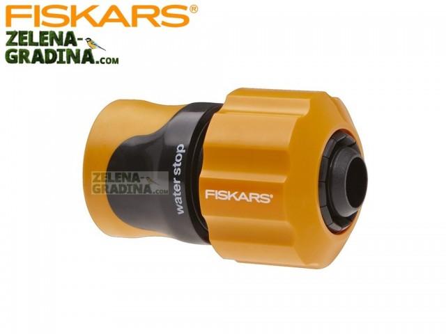 """FISKARS 1023671- Бърза връзка за маркуч с AQUA стоп, Размер: 3/4"""""""