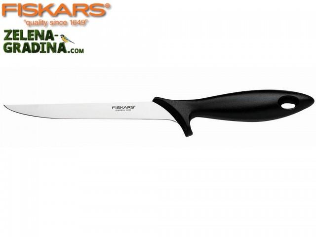 """FISKARS 1023777 - Нож за филетиране """"Essential"""", Дължина на острието: 18 cm"""