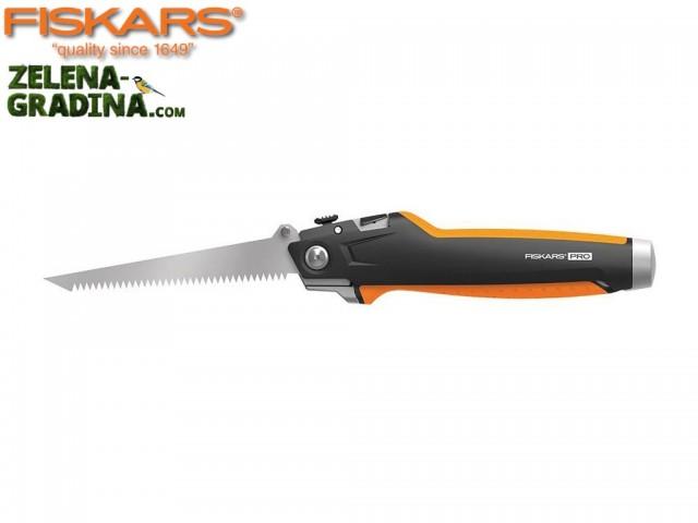 """FISKARS 1027226 - Макетен нож и трион за гипсокартон """"CarbonMax"""""""