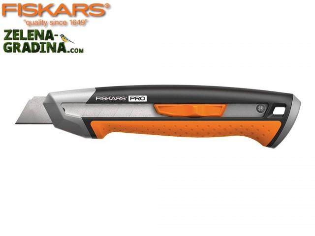 """FISKARS 1027227 - Универсален макетен нож """"CarbonMax"""" 18 mm"""
