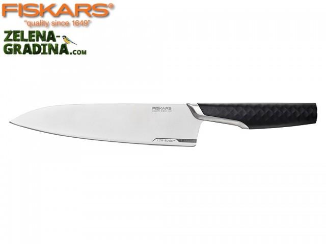 """FISKARS 1027294 - Голям готварски нож """"TITANIUM"""", Дължина на острието: 20 cm"""